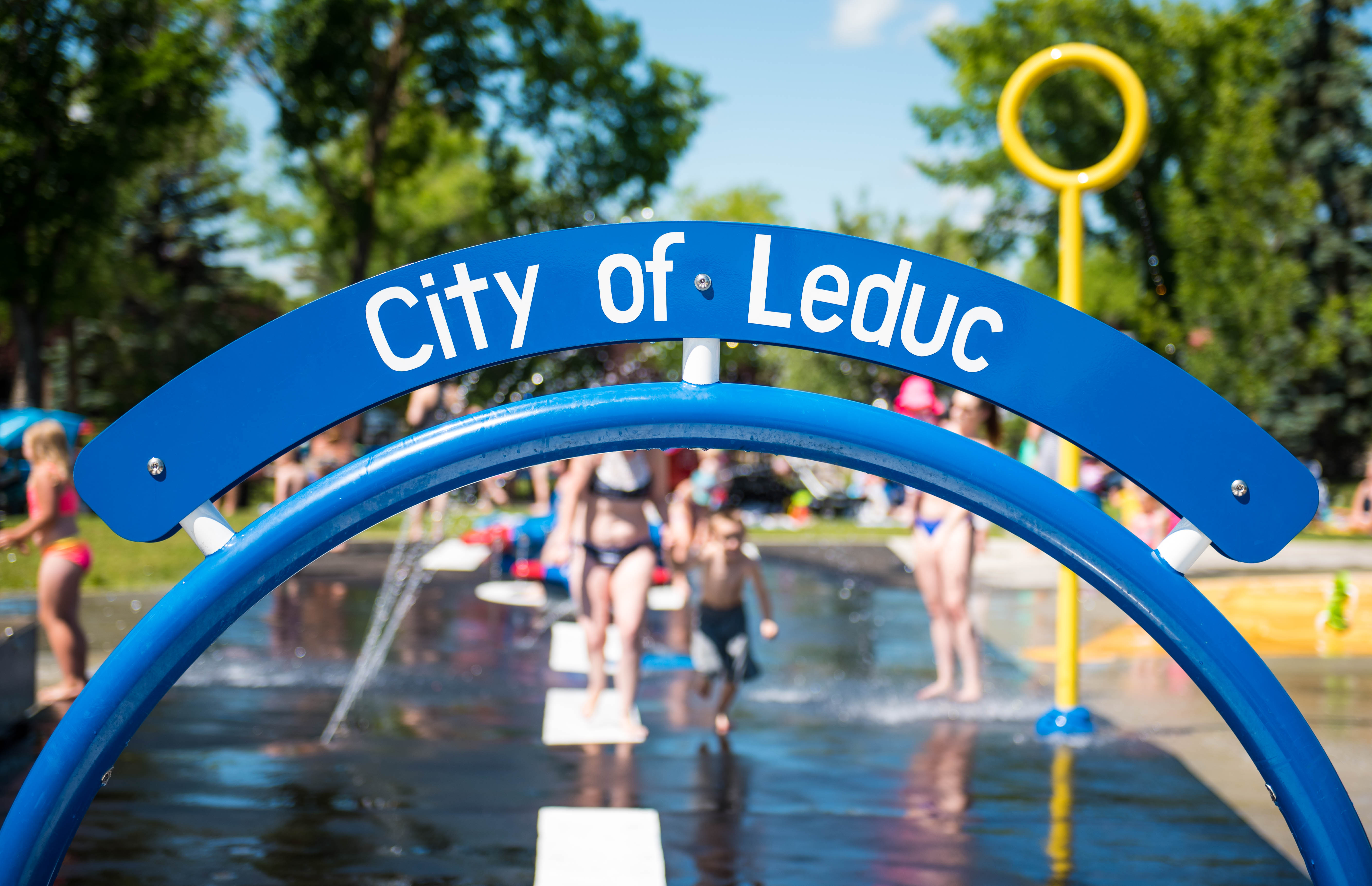 Alexandra Outdoor Pool | City of Leduc