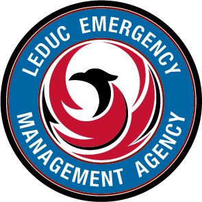 Image of the Leduc Emergency Management Agency crest