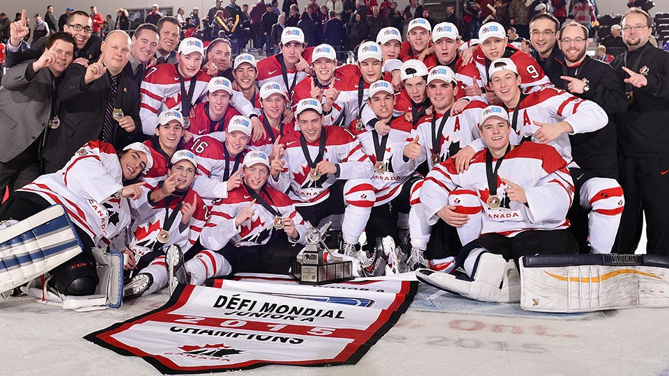The World Junior A Challenge includes two Canadian teams - East and West - joined by four international entries to compete for gold. Source: www.hockeycanada.ca
