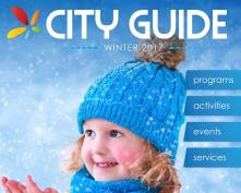 Image of the 2017 Winter City Guide front cover