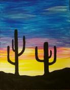 Paint the Night - painting example