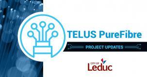 TELUS PureFibre project updates