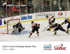 Image of sport tourism master plan cover
