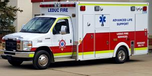 Photograph of Leduc Ambulance
