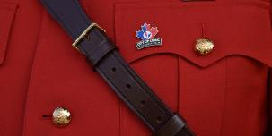 Photograph of an RCMP uniform
