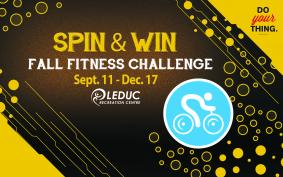 Spin & Win Fall Fitness Challenge - Sept. 11 - Dec. 17, 2016