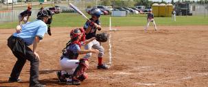 photo of provincial baseball tournament in Leduc