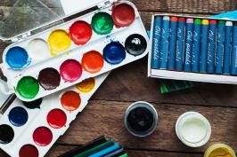 Photo of paint supplies