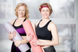 Photo of Yoga Participants
