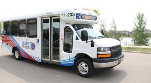 photo of Leduc Transit bus