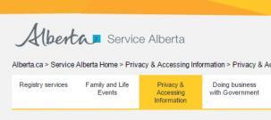 Alberta Services Canada - PIPA