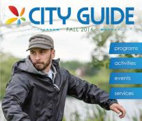 Fall 2016 City Guide cover image
