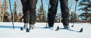photo of cross country skiing in Leduc