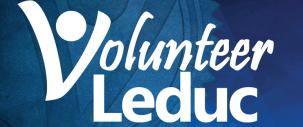 Volunteer Leduc logo