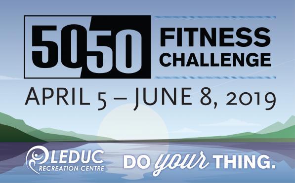 LRC - 50/50 challenge April 5 - June 8, 2019