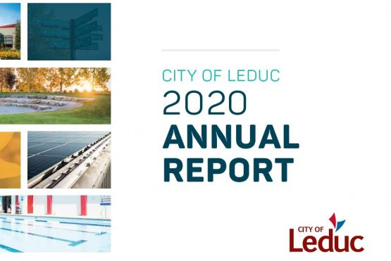 image of the 2020 annual report cover
