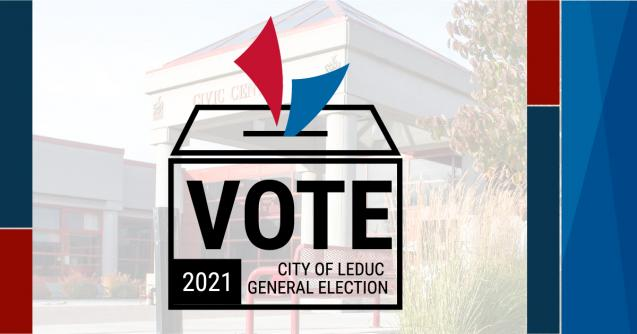 VOTE City of Leduc General Election 2021
