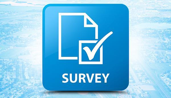image of survey button
