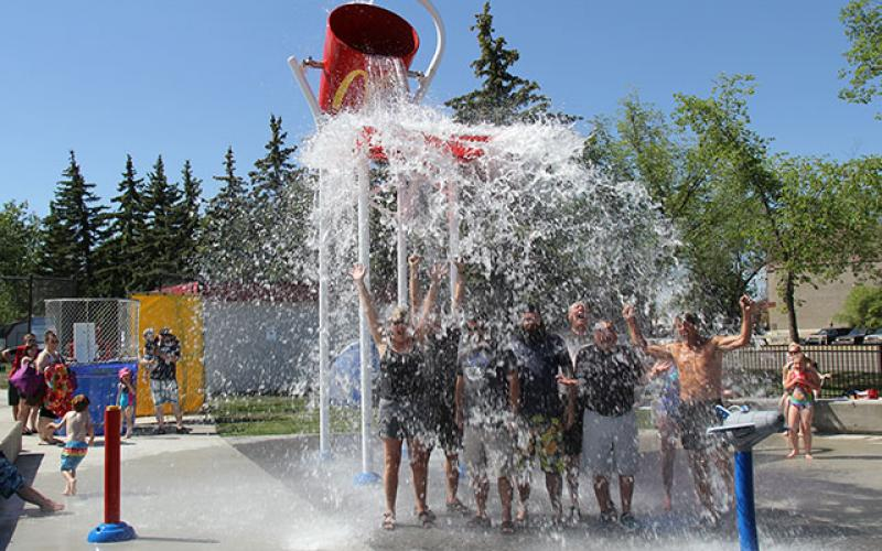 Spray Park City Of Leduc