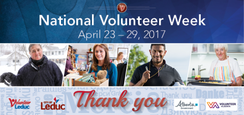 National Volunteer Week Poster