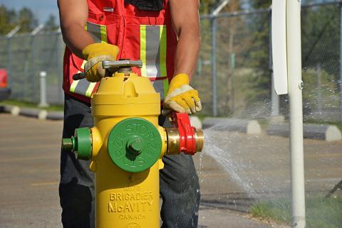 City of Leduc Fire Extinguisher