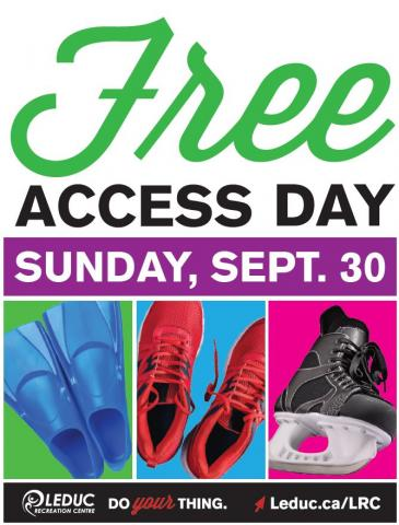 FREE Access Day Poster