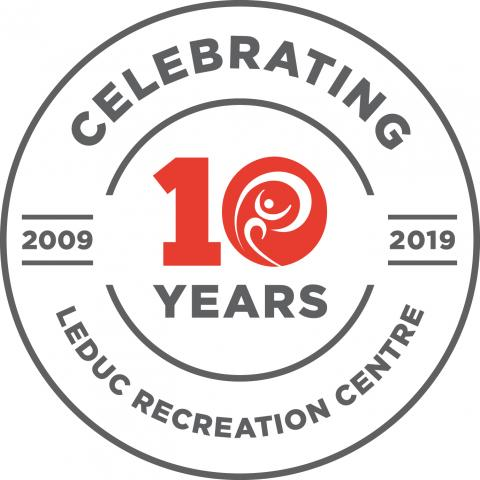 Celebrating 10 years at the LRC - logo