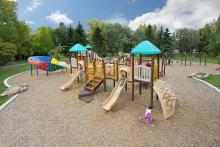 Image of playground at Fred Johns Park