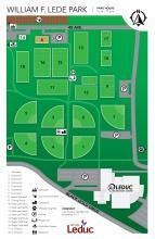 Map of William F Lede Park