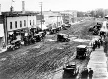 Main Street East View, 1920