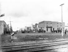 Main street west view, 1907