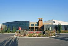 exterior photo of Leduc Recreation Centre