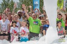 2017 - 5k foam run