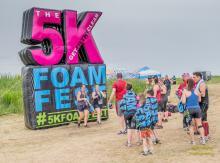 2017 - 5k foam run 21