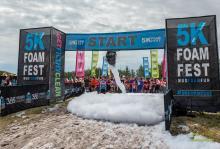 2017 - 5k foam run 3