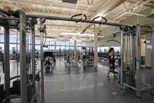 Photo of fitness centre in the Leduc Recreation Centre