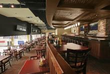 Photo of restaurant area in the Leduc Recreation Centre