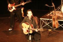 Image of David James performing at the MacLab Centre