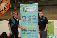 Alberta Summer Games volunteers
