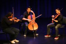 Image of Infinitus performing at MacLab Centre