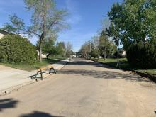 Monowalk completion, curb and gutter removals on Chippewa