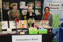 Communities in Bloom volunteers at the Community Information and Registration Day event.