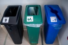 Photo of waste bins