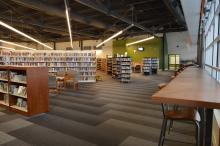 Leduc Public Library - interior photo