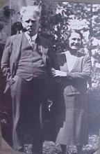 Photo of Dr. Woods and wife Olive