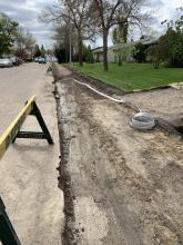 Huron - Wick Drain and Gravel Install