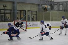 Photo of Oilers on ice practice
