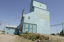 Photo of Leduc Grain Elevators