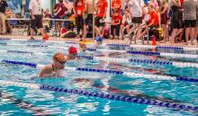 photo of swimmers at the LRC