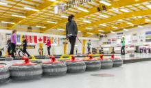 Curling at the LRC